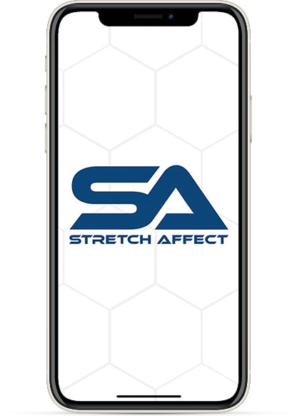 StretchNOW app welcome screen example